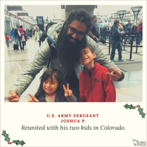 Venture Construction Group Helps Nation's Heroes Spend Time With Families This Holiday Season